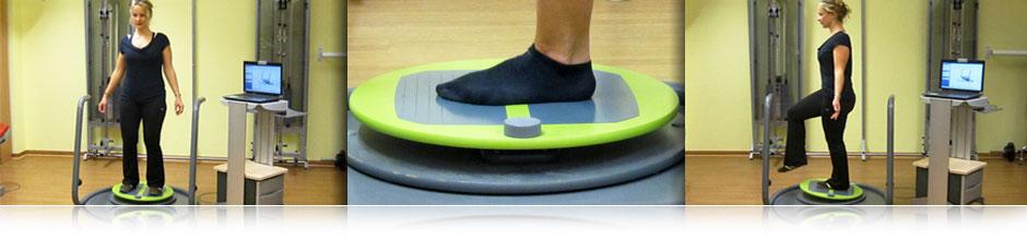 MFT S3 Check ist ein Koordinationstest für Balancefähigkeit und Körperstabilität