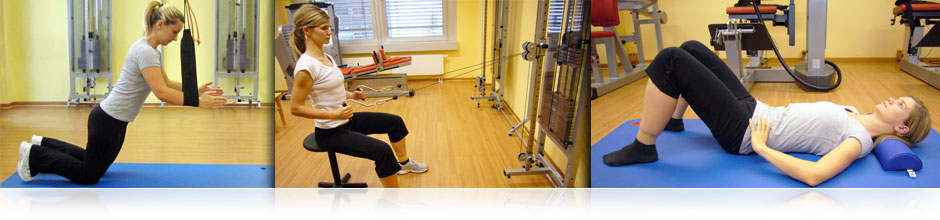 Training bei Rückenschmerzen im Lendenwirbelbereich, Brustwirbelsäulenabschnitt oder der Halswirbelsäule