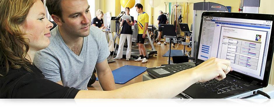 Beratung bei Orthotrain - das medizinische Diagnostik- und Trainingszentrum