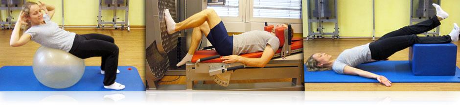 Beschwerden und Schmerzen werden durch aktives Training beseitigt